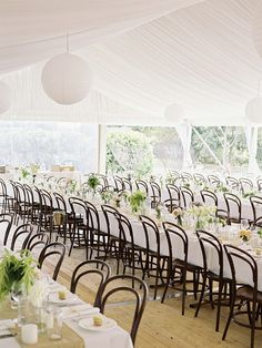 #tablescapes #tent Photography by mredwards.com.au Floral Design by engadineflorist.com.au/  Read more - http://www.stylemepretty.com/2013/05/29/australia-wedding-from-mr-edwards-photography-and-design/