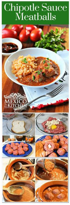 Si te gustan las albóndigas y los chiles Chipotle, definitivamente te encantará esta receta. Es muy fácil de hacer y lleva las albóndigas a otro nivel. #mexicanrecipes #mexicanfood #mexicancuisine #beef