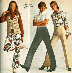 I had one of those sweater vests... this is from the 1974 Sears catalog.