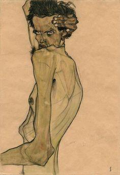 Egon Schiele at Neue Galerie