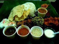 I would trade my left arm for it... South Indian Vegetarian Meal