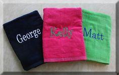 tinytulip.com - Monogrammed Beach Towels, $32.50 (http://www.tinytulip.com/monogrammed-beach-towels)