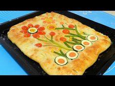 MOZZARELLA GARDENSCAPES BREAD - Bread Art Recipe - YouTube Breakfast Around The World, Bread Art, Plain Yogurt, Recipe Today, Unsalted Butter, International Recipes, Mozzarella, Baking Recipes, Zucchini