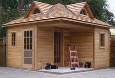 13-by-13 tiny house