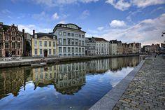 Korenlei Streets- Gent, Belgium