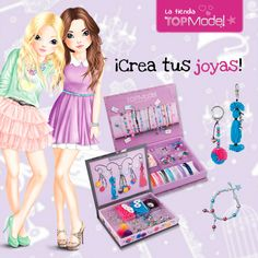 Juegos #TopModel para futuras diseñadoras de #joyas ¡¡¡Ideales para regalar!!!