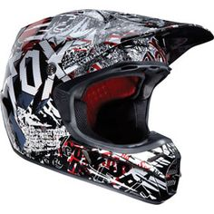 $300 Fox Racing V3 Type O Helmet