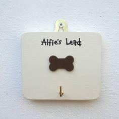 Personalised Single Dog Bone Hook from notonthehighstreet.com