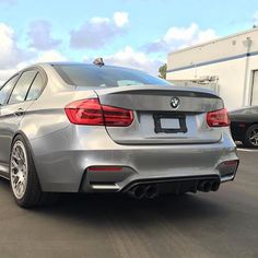 Status Gruppe BMW F30/F80 CSL Style trunk lid installed on the F80 M3  available in FRP single sided carbon or double sided carbon. Contact us today for pricing 1-866-448-4843 or email Sales@Vividracing.com  @statusgruppe #statusgruppe #vividracing #bmw #f80 #m4 #f30 #bmwnation #bmwgram #bmwm3