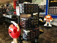 The Rowdy Store at Kyle Busch Motorsports is stocked and ready for Race Week! Red and Orange are happy and waiting to see you.