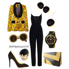 Hey There Sunshine by k1974johnson1117 on Polyvore featuring Marc Jacobs, Zimmermann, Charlotte Olympia, Alor, Lana and Prada