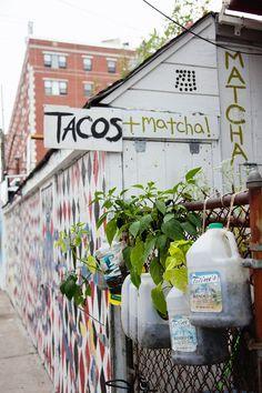 Tacos and Matcha