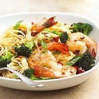 Shrimp with Pasta by Jill Bills