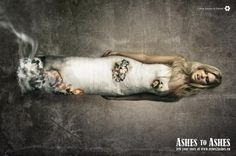 Anti-Smoking Campaign: Ashes to Ashes