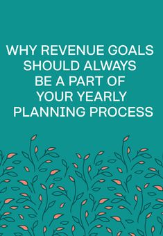 My yearly business planning always starts with revenue goals. Those goals drive the rest of my marketing strategy for the year. Business Management, Management Tips, Business Planning, Business Tips, Online Business, Project Management, Business Goals, Financial Tips, Financial Planning