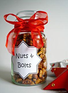 Nuts & Bolts Nutrigrain Recipe