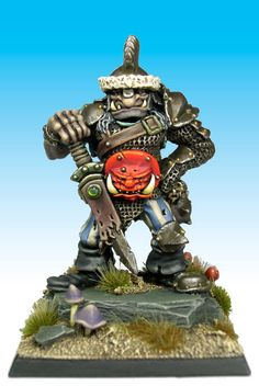 Hrothyogg Ogre Captain - Citadel Miniatures