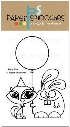 Party Pals: paper smooches