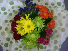 Bright grouped Bouquet
