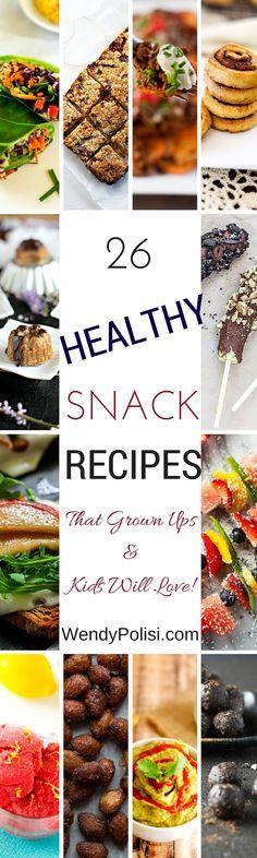 26 Amazing Healthy Gluten Free Snack Recipes - WendyPolisi.com