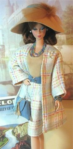 OOAK Travel Suits Collection  by Donnas Doll Designs   Sophisticated!