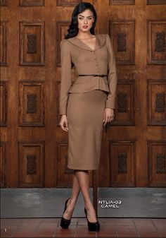New Fall Stop Staring! Dresses Now Available for Pre Order at bven.myshopify.com  Pre Order Stop Staring! NATALIA Camel Suit Dress