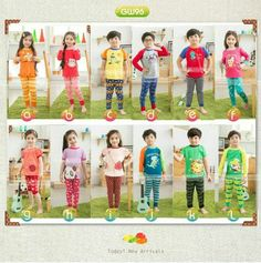 GW96 LONG PJS SIZE 95-140 FIT TO 2T-7T