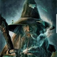 Gandalf from The Hobbit / Lord of the Rings Time: hours. Couldn't be bothered to fix the hand holding the pipe or draw the rest of the staff >. Gandalf the Grey Jrr Tolkien, Fantasy World, Fantasy Art, Mago Tattoo, John Howe, O Hobbit, Hobbit Art, Forgotten Realms, Legolas