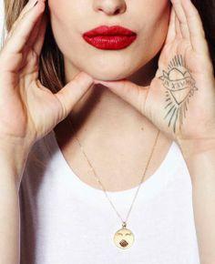 Jemima Kirke for Alison Lou Emoticore Lookbook