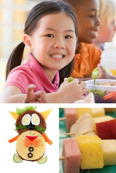 Tips for packing a healthy back to school lunch. Free resources too!