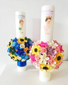 Origami Design, Wedding Art, Rigs, Insta Art, Paper Flowers, Paper Art, Candle Holders, Candles, Handmade