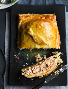 Salmon Wellington. A fabulous party showstopper, perfect for Easter.