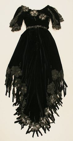 Dress, ca. 1901, French, silk