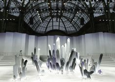 crystal runway chanel