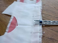 Construction tips for a smocked insert