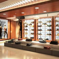 Fashion Showroom Retail Design