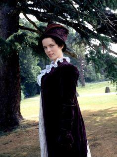 Kate Beckinsale as Emma Woodhouse in TV film of Jane Austen's EMMA 1997