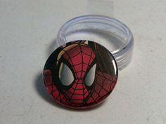"Comic Book 1.5"" Button// Spider-Man, $1.00"
