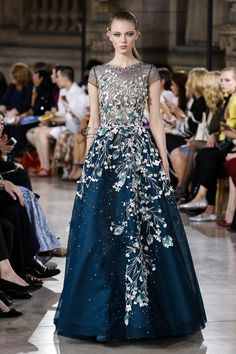 Georges Hobeika Couture Fall Winter 2016 Paris