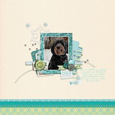 For this week's 3 Way Challenge - check it out in the Challenge Gallery! Used - Scotty Girl Designs Frosted Kit