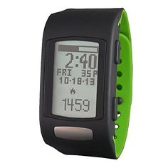 LifeTrak Move C300 24-hour Heart Rate Watch, Black/Woodland Green. Tracks your daily steps, calories, distance and heart rate. Sync data to some of your favorite health and fitness apps. Recognizes the difference between walking, jogging and running strides. Waterproof and no charging required. View your progress Hourly, Daily, Weekly or by Exercise.