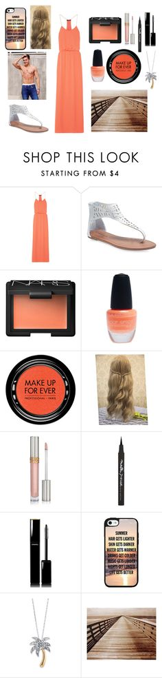 """""""Boardwalk with Zac"""" by sarahorantomlinson ❤ liked on Polyvore featuring TIBI, Wet Seal, NARS Cosmetics, MAKE UP FOR EVER, Maybelline, Chanel and Palm Beach Jewelry"""