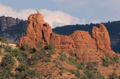 Snoopy Rock, Sedona Arizona
