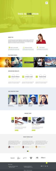 Professional  One  Page  Design / Redesign by KonnstantinC - 68306