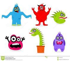 monstruitos divertidos - Buscar con Google