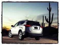 Toyota RAV4 2013-XLE Rear Angle
