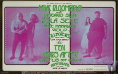 Mike Bloomfield with Chicago Slim  Bola Sete  Mike Finnigan  Ten Years After  Cactus  Pot Liquor    4/29-5/2/71Randy Tuten