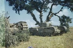 File:Churchill Tanks in Italy, July 1944