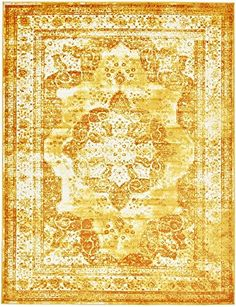 Amazon.com: Traditional Persian Vintage Design Rug Beige Rug 8' x 10' FT (305cm x 244cm) Sofia Area Rug Inspired Overdyed Distressed Fancy: Kitchen & Dining