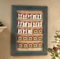 Decoupage - Christmas Countdown Calendar